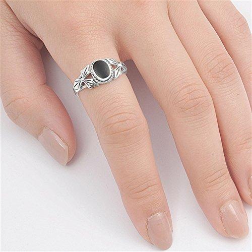 anillo de plata esterlina, elija su color