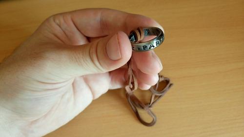 anillo de sir francis drake del juego uncharted ps4 + correa