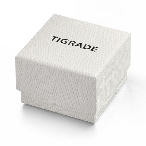 anillo de titanio unisex de 6 mm con mate plano cepillado
