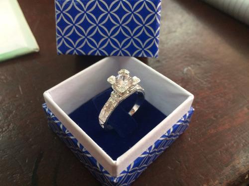 anillo de torre eiffel en plata 950