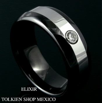 anillo del amor tungsteno  bodas compromiso amor grabado