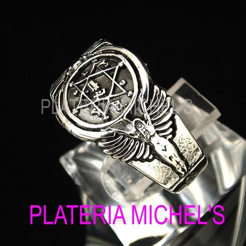 anillo del rey salomon en plata ley 0.925   vv4