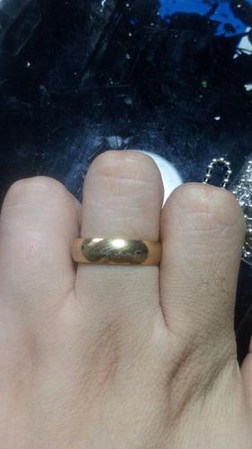anillo del señor de los anillos grabado