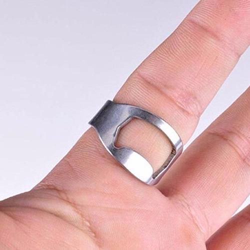 anillo destapachelas de acero