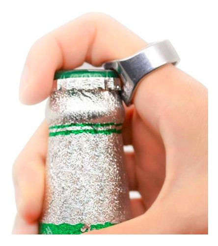 anillo destapador botellas cerveza 22mm inox envio gratis
