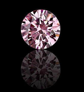 4f00ccceb399 anillo con diamante cultivado rosa de 75 pt. en oro de 14k · anillo  diamante oro