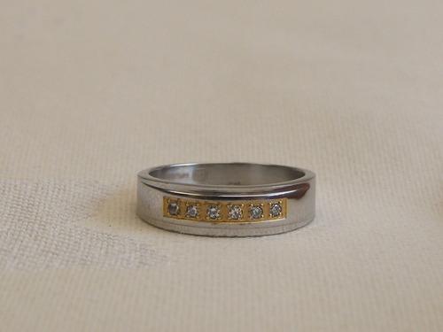anillo en acero para hombre #028