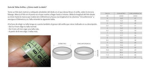 anillo en acero para unisex #012