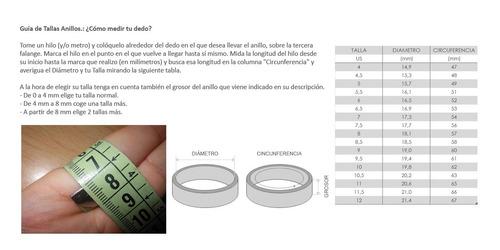 anillo en acero para unisex #013