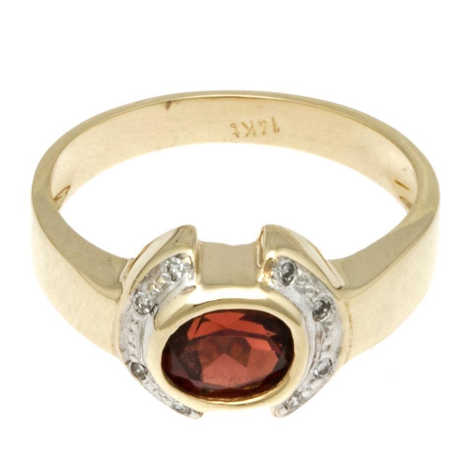41b279a4798c anillo en oro amarillo con circonias y sintético.-122933576. Cargando zoom.