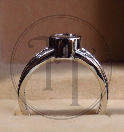 anillo en plata esterlina 925 con swarovski cz