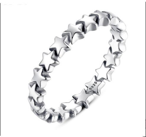 pandora anillo estrella