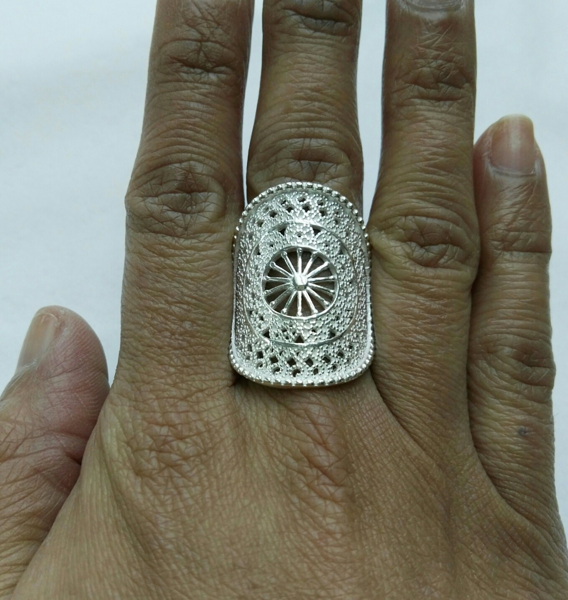 anillo filigrana de plata. Cargando zoom. c0f3a69e1f9