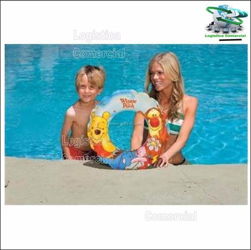 anillo flotador inflable 51 cm winnie pooh 58228 intex