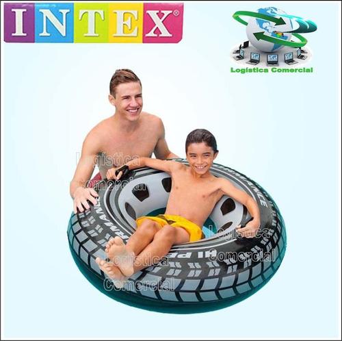 anillo flotador neumatico  91cm inflable adulto 59252 intex