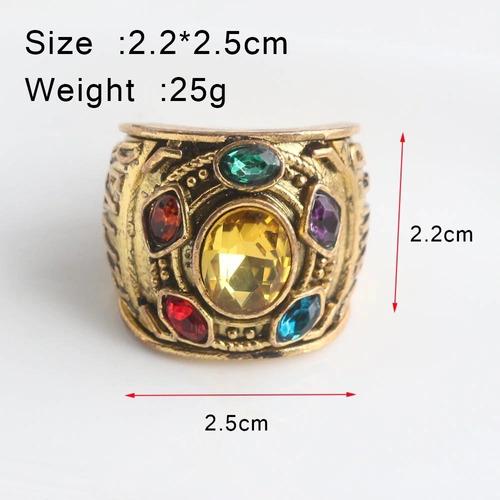anillo gemas del infinito thanos infinity war 8 9 11 y 12