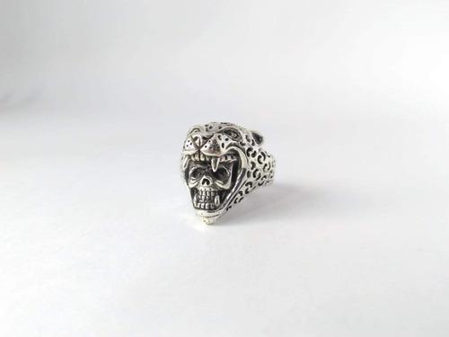 anillo guerreo jaguar plata .925;  taxco de alarcón