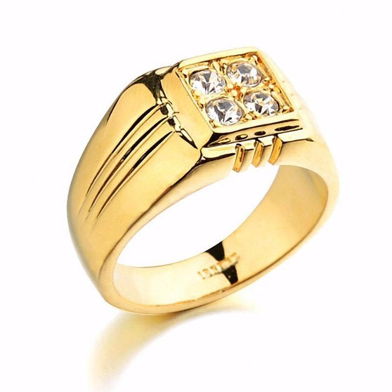 59fa3a65e86e anillo hombre baño oro 18k mujer amor joyas reloj. Cargando zoom.