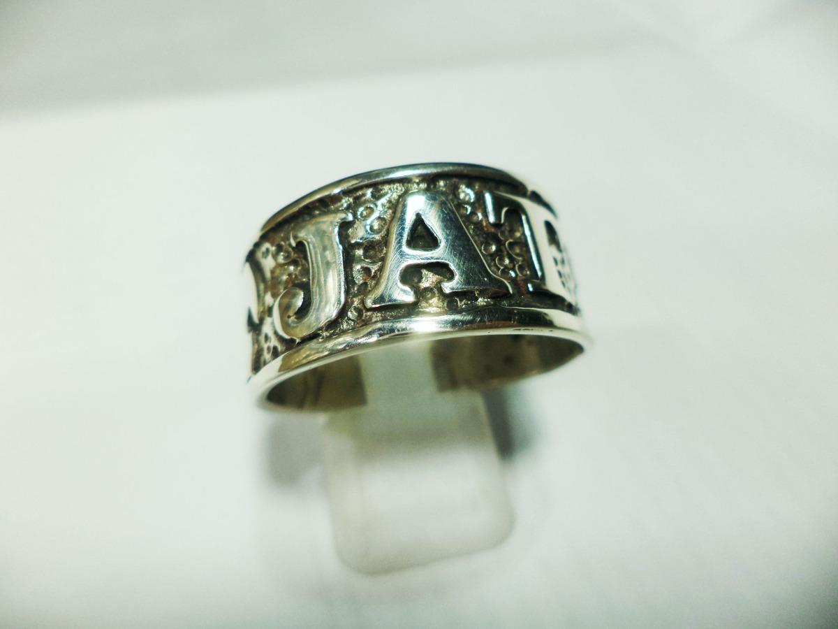 20f7c0bf5dde anillo iniciales plata a pedido diseño a combinar desde. Cargando zoom.