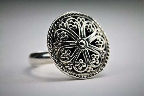 anillo joyas de peru de plateria 950 de ley