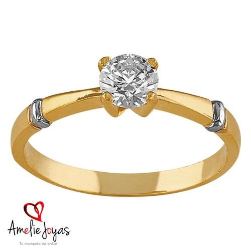987d77383c70 Anillo De Compromiso Amelie Joyas Oro 14k Diamantes Naturals ...