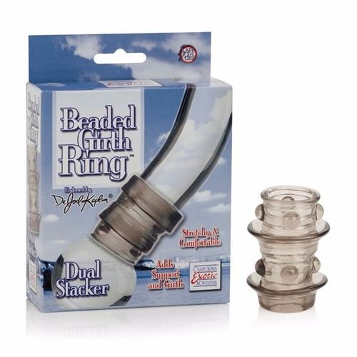 anillo largo texturizado para erecciones firmes y retardar