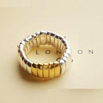 anillo link aro  bicolor sz 6