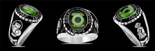 anillo linterna verde green lantern corps guardian dc igo!