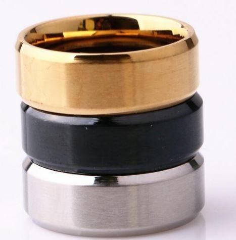 anillo liso de acero inoxidable valbar