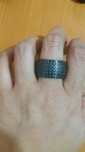 anillo llanta unisex