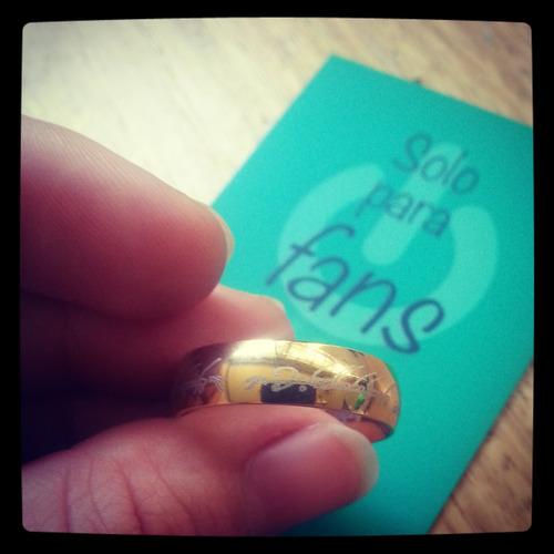 anillo los anillos acero