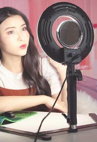 anillo luz para maquillaje, fotografia, video
