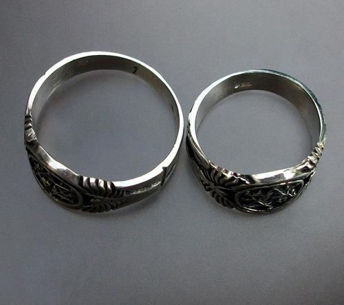 anillo mágico del rey salomón en plata fina .925