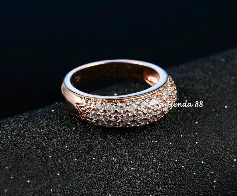 f5cfeb382d28 anillo mujer clásico de compromiso oro 18kl. cristales suizo. Cargando zoom.