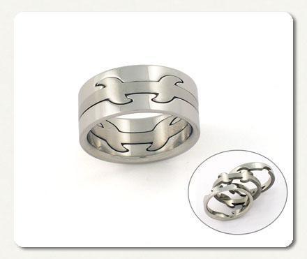 anillo o argolla de acero desarmable en tres piezas vv4