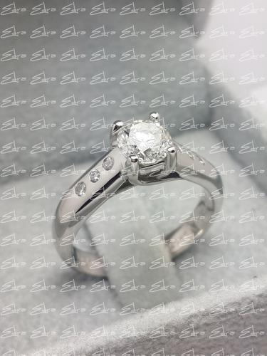 anillo o argolla de compromiso-plata 950- zircon swarovski