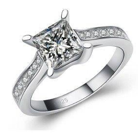 anillo ocean heart baño oro  numero 7
