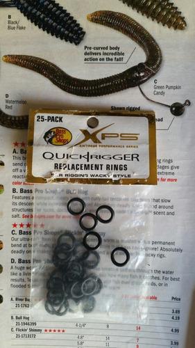 anillo o'ring especial para wacky pesca de lobina