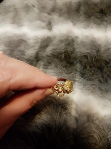 anillo oro 18 k con diamante