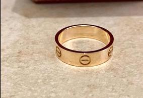 mitad de descuento 2676a 24192 Anillo Cartier Love Original Hombre - Joyería en Mercado ...