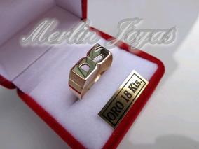 700b4539990e Anillos De Oro 18k Merlin Joyas - Joyas y Bijouterie en Mercado Libre  Argentina
