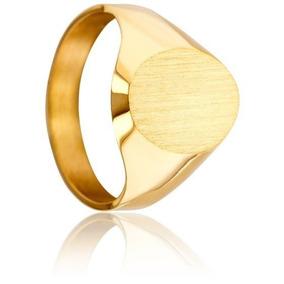 a2a81f3b1b74 Anillo Sello Oro 18k Ovalado Para Hombre - Anillos en Mercado Libre ...
