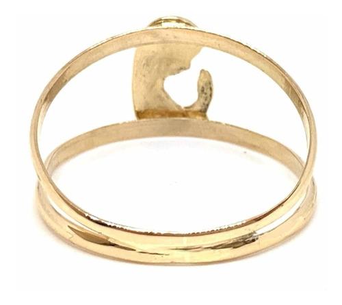 anillo oro 18k virgen niña (a532) cuotas