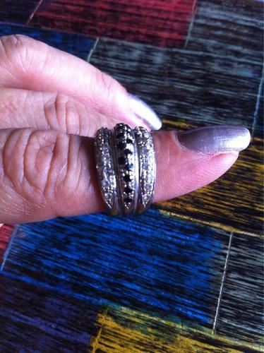 anillo oro blanco 18. 8gr (oferta )