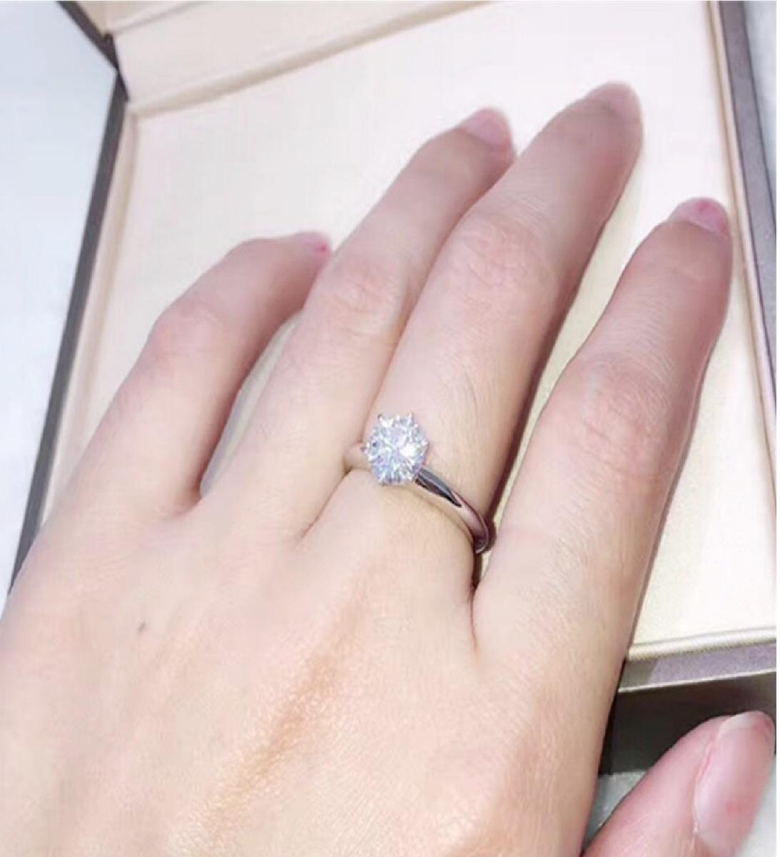 bce16a5a59fa anillo oro blanco 18k swarovski aniversario aro plata mama. Cargando zoom.