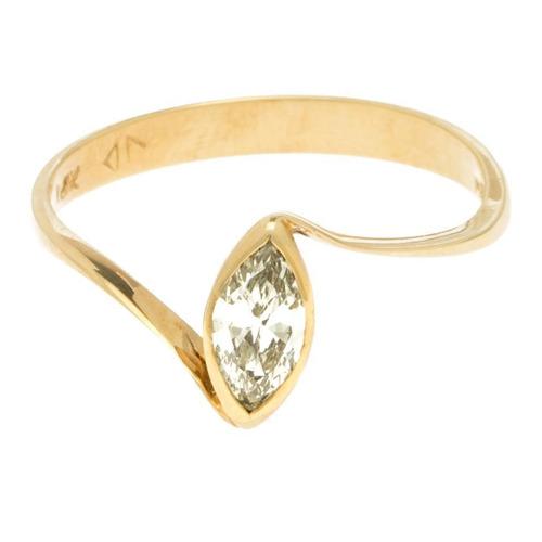 anillo oro diamante.
