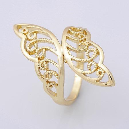 anillo oro laminado 10k 3.2 gramos tamaño #8.5