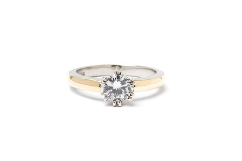 anillo oro oro