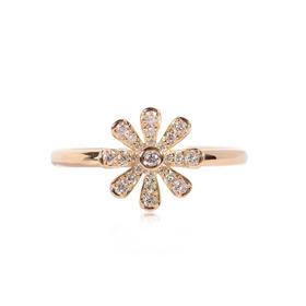 Anillo Ostara En Oro Amarillo De 18k Con Diamantes (33923)