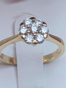 f704cd28233c Precioso Anillo De Compromiso De Joyerias Bizarro Diamantes ...